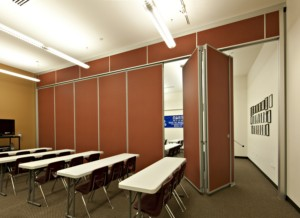 Unispan® Self-Support System For Operable Partitions