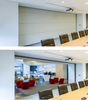 Summit® Vertical Lift Operable Partitions