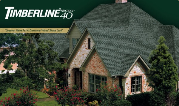 Timberline® Prestique® 40 High Definition® Asphalt Roofing Shingles
