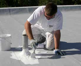 United Coatings™ Roof Mate Butter Grade Flashing