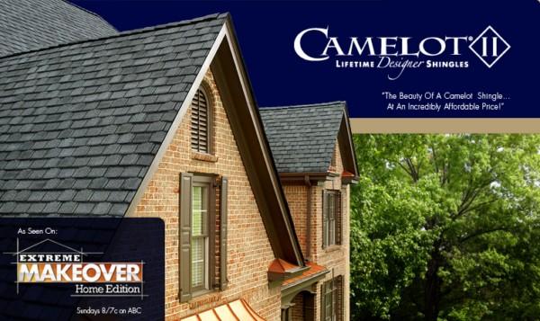 Camelot II® Lifetime Designer Asphalt Shingles