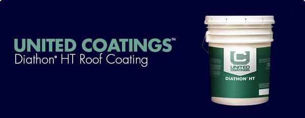 United Coatings™ Diathon® HT Roof Coating