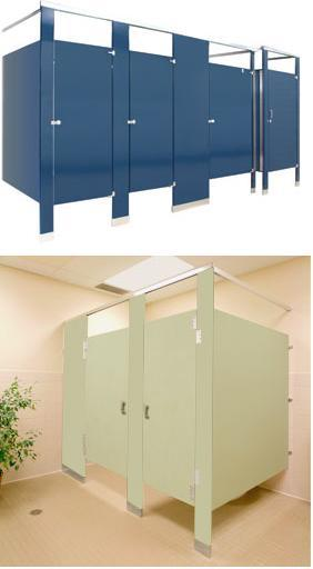 Powder Coated Steel Toilet Partitions