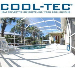 Cool Tec Heat Reflective Concrete And Wood Deck Coating