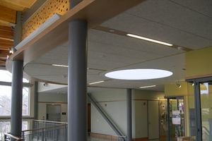 full-span and concealed corridor ceiling panels – tectum inc. - sweets