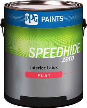 SPEEDHIDE® zero Interior Zero VOC Latex Flat Paint