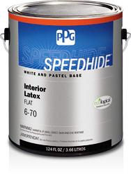 SPEEDHIDE® Interior Flat Latex Paint