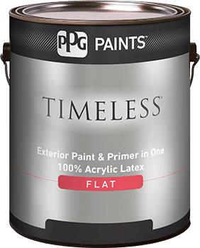 TIMELESS® Exterior Flat Acrylic Latex Paint