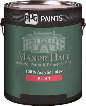 MANOR HALL® Exterior 100% Acrylic Latex Flat Paint