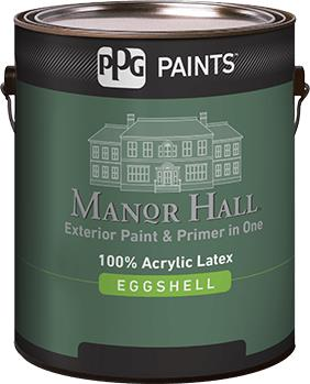 Manor Hall Exterior 100 Acrylic Latex Eggshell Paint Ppg Paints Sweets