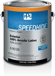 Speedhide Exterior 100 Acrylic Latex Semi Gloss Paint Ppg Paints Sweets
