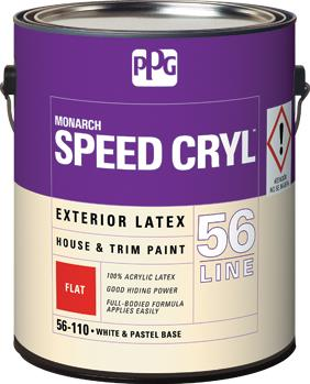 SPEED CRYL™ Exterior Latex House & Trim Paint Flat