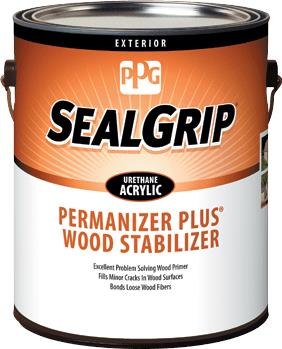 SEAL GRIP® PERMANIZER PLUS® Exterior Wood Stabilizer