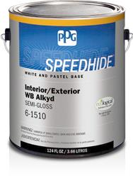 SPEEDHIDE® Interior/Exterior WB Alkyd Semi-Gloss Paint