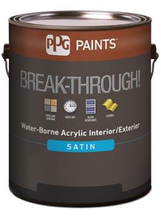 BREAK-THROUGH!® 50 Interior/Exterior Satin Water-Borne Acrylic
