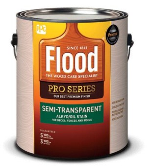 Flood Pro Series Semi-Transparent Alkyd/Oil Stain