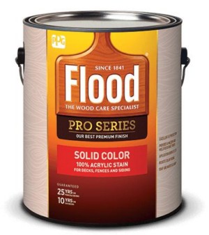 Flood Pro Series Solid Color Stain