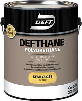 Defthane® Polyurethane Interior/Exterior Oil Based 275 g/L - Semi Gloss