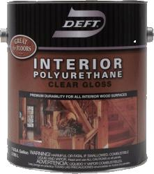 Deft® Polyurethane Interior Oil Based 450 g/L - Satin