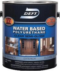 Deft® Polyurethane Interior/Exterior Water Based - Gloss