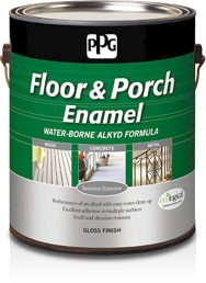 PPG Floor & Porch Water-Borne Alkyd Gloss