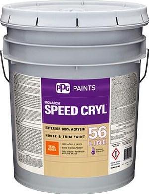 SPEED CRYL™ Exterior House & Trim Paint, Semi-Gloss 56-510XI