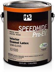 SPEEDHIDE® Pro-EV Interior Enamel Latex Semi-Gloss Paint