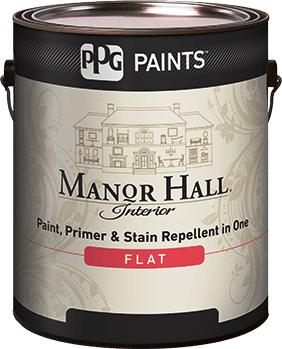 MANOR HALL® Interior Flat Acrylic Latex Paint