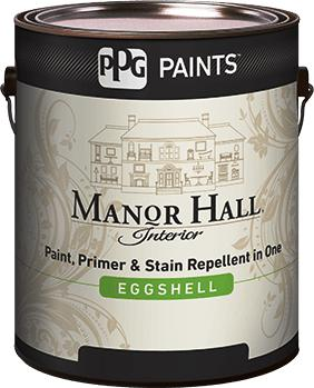 Manor Hall 174 Interior Eggshell Acrylic Latex Paint Ppg