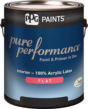 Pure Performance Interior Flat Latex Paint