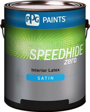 SPEEDHIDE® zero Interior Zero-VOC Latex Satin Paint