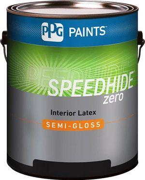 SPEEDHIDE® zero Interior Zero VOC Latex Semi-Gloss Paint