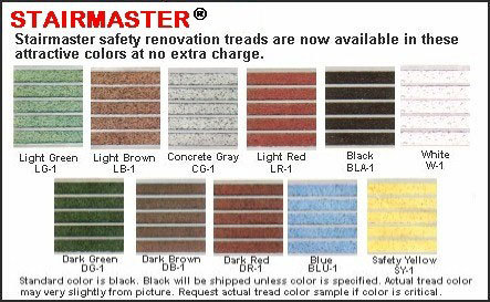 Stairmaster flexmaster anti slip renovation stair treads wooster products inc sweets - Non slip exterior paint style ...