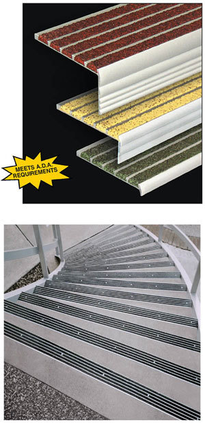 Supergrit® Safety Stair Nosings