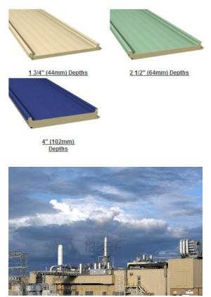 Versapanel 174 Factory Foamed Insulated Wall And Roof Panel