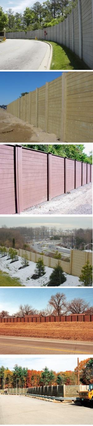 PLYWALL® Noise Barrier System