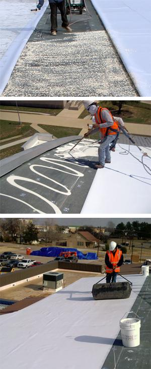 Duro-Fleece® Single-Ply Roofing Membrane