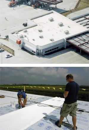 Duro-Last® EV Single-Ply Roof Membrane