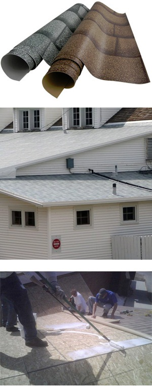 Shingle-Ply® Membrane Roofing System