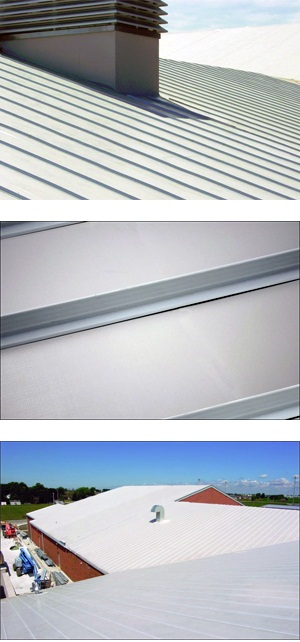 Vinyl Rib Roofing System