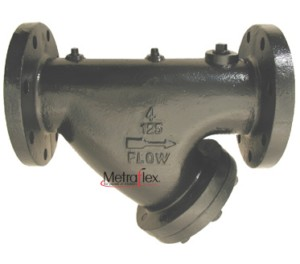 TF 125# Flanged Cast Iron Y Strainer