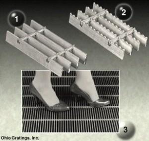 Aluminum Flush Top Grating – SGF Series