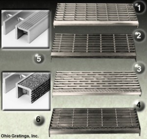 Attractive Aluminum Industrial Stair Treads