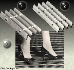 Aluminum Rectangular Bar Grating – SG Series
