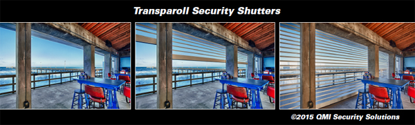 StoreSafe® Transparoll Security Shutters