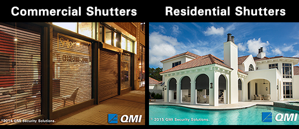 StormSafe® Qompact Rolling Security & Storm Shutters