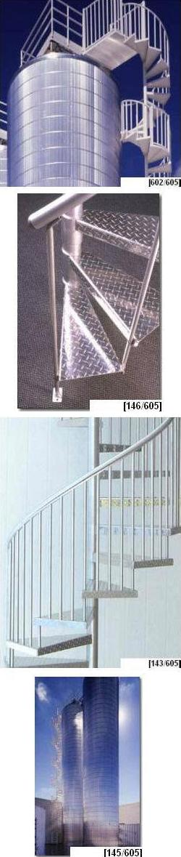 Aluminum Spiral Stairs