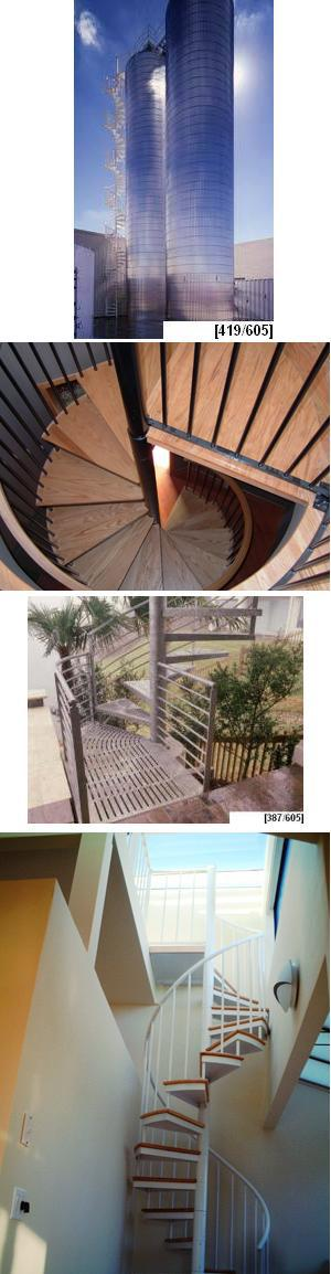 Outdoor and Heavy Duty Spiral Stair Kits