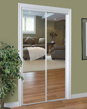 Slimfold Sliding Mirrored Doors Dunbarton Corporation