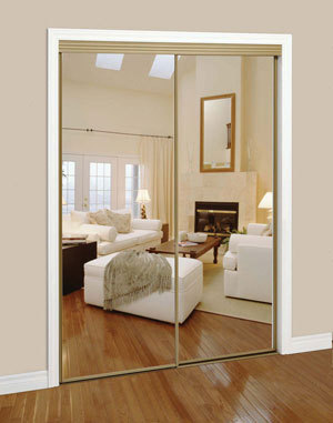 Slimfold Sliding Mirrored Doors – Dunbarton Corporation - Sweets